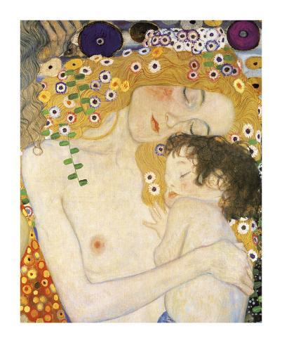 Mother and Child (detail from The Three Ages of Woman), c. 1905 Giclee Print