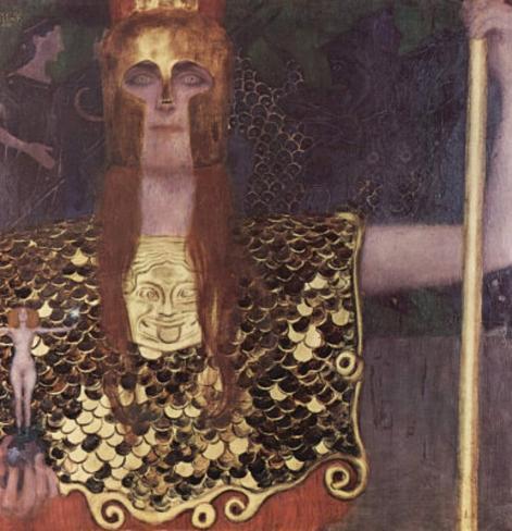 Gustav Klimt (Pallas Athene) Art Poster Print Masterprint