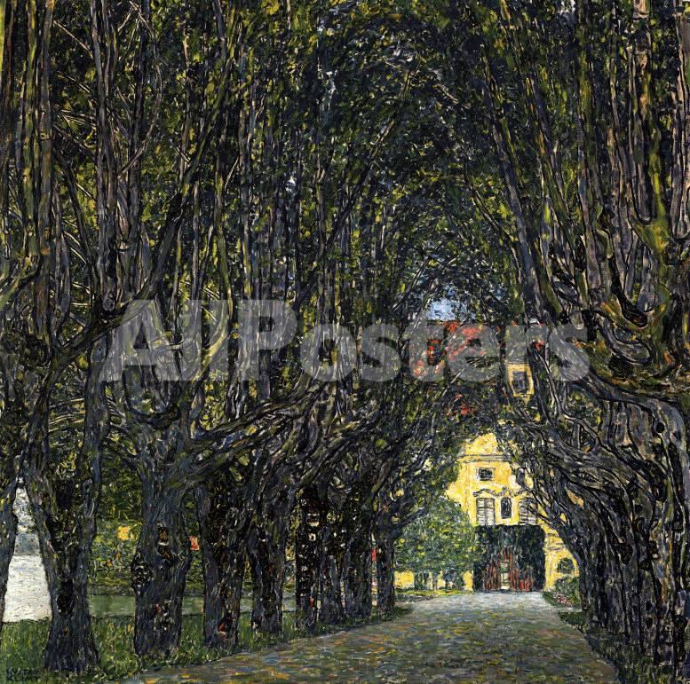 Paseo en el parque del palacio Kammer Pósters por Gustav Klimt en ...