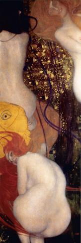 Peces dorados Reproducción de lámina sobre lienzo