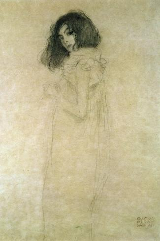 Portrait of a Young Woman, 1896-97 Giclee Print