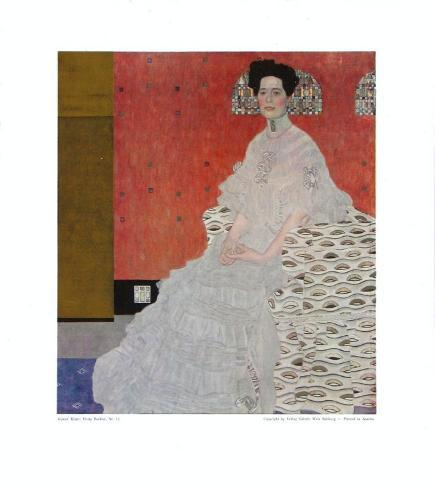 Portrait of Fritza Riedler Collectable Print