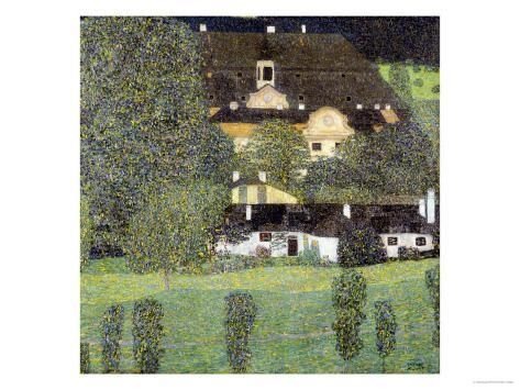 Schloss Kammer Am Attersee II, 1909 Giclee Print