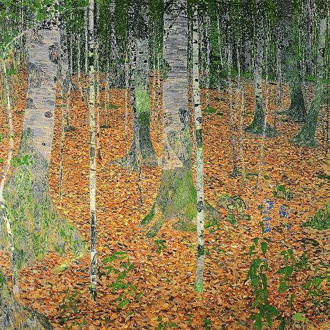 The Birch Wood, 1903 Giclee Print