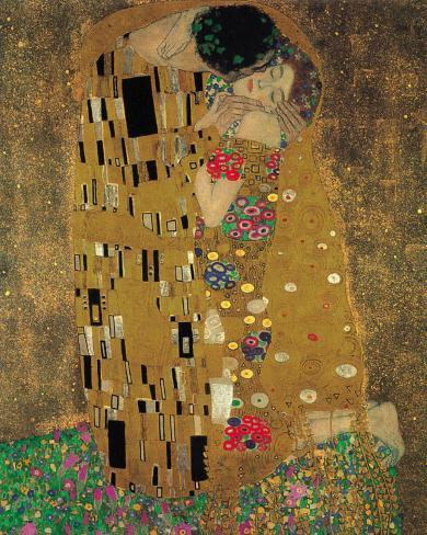 The Kiss, c.1907 Art Print