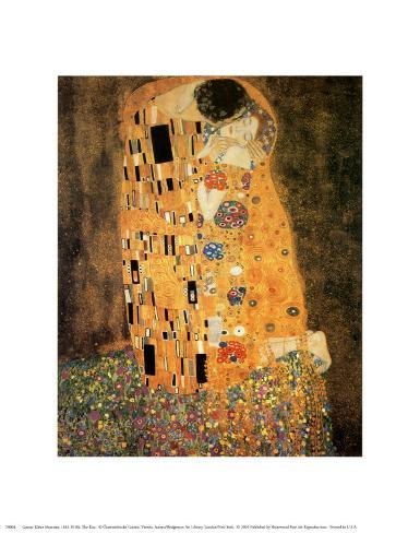 The Kiss, c.1907 Art Print