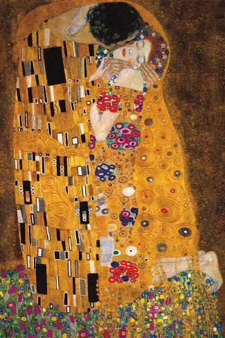 the kiss der kuss photo by gustav klimt at. Black Bedroom Furniture Sets. Home Design Ideas