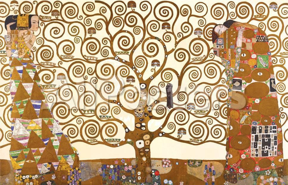 Gustav Klimt - The Tree Of Life Print - AllPosters.co.uk
