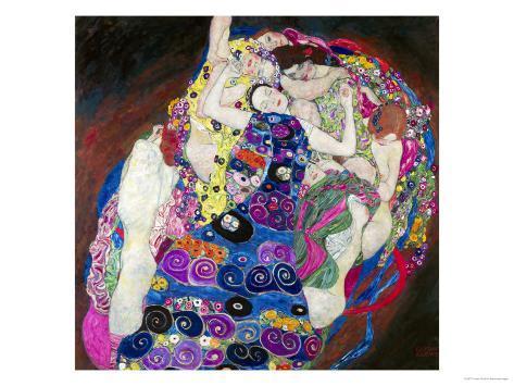 The Virgin (Die Jungfrau) Giclee Print