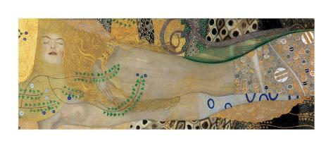 Water Serpents I, c.1907 Giclee Print
