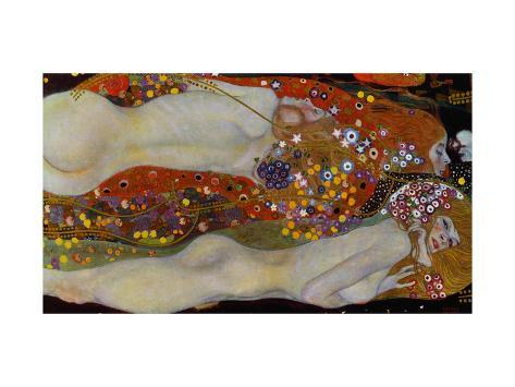 Water Serpents II, c.1907 Giclee Print