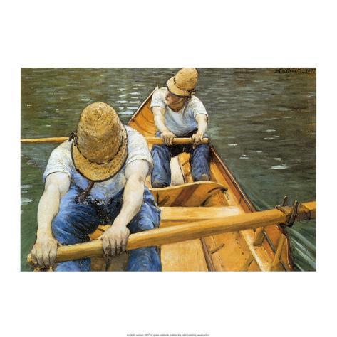 Oarsmen Art Print