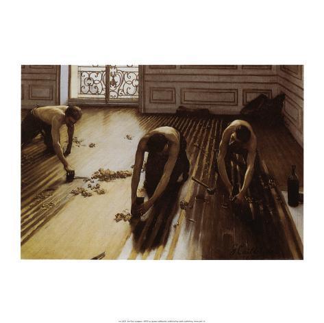 The Floor Scrapers Art Print