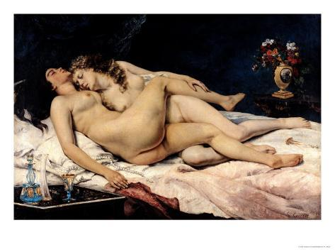 Le Sommeil, 1866 Giclee Print