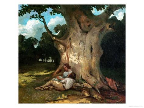 The Large Oak Giclee Print