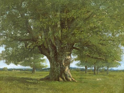 The Oak of Flagey, Called Vercingetorix Giclee Print