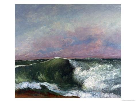 The Wave, 1870 Giclee Print