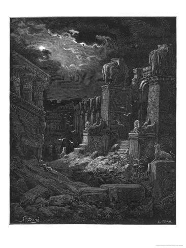 Fall of Babylon Giclee Print