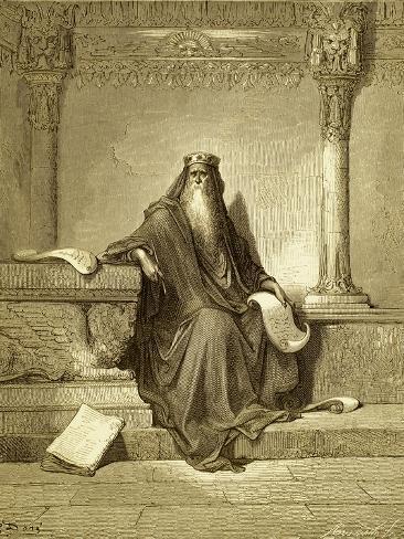 Solomon, King of Israel Giclee Print