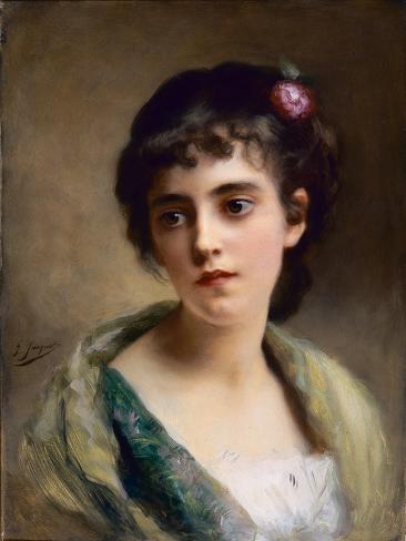 Head of a Girl Giclee Print