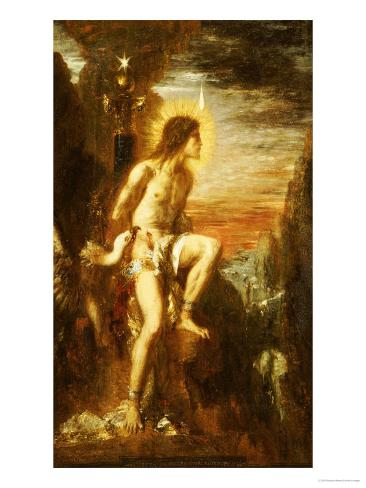 Prometheus Bound Giclee Print