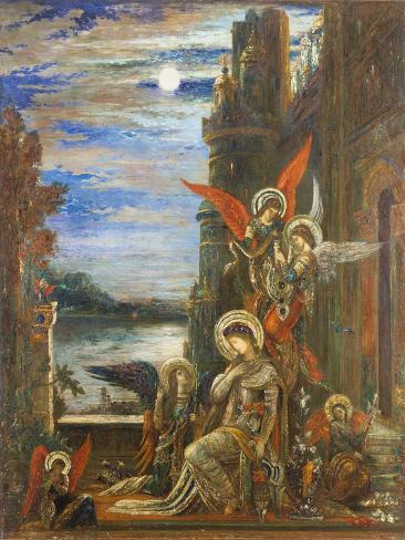 Saint Cecilia Stampa giclée