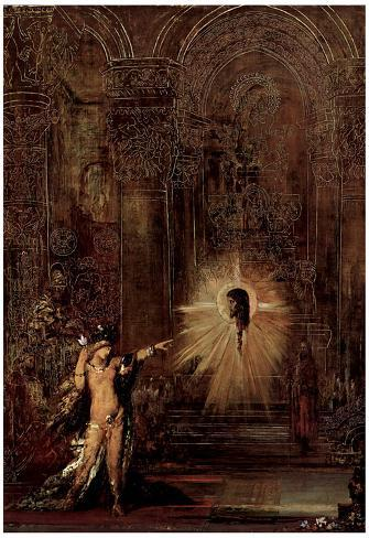 Gustave Moreau (The appearance (Salomé and the head of John the Baptist)) Art Poster Print Poster