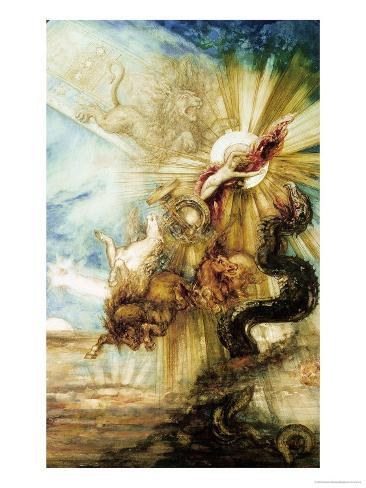 The Fall of Phaethon Giclee Print