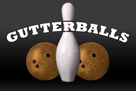 Gutterballs a Jackie Treehorn Production Movie Poster Poster