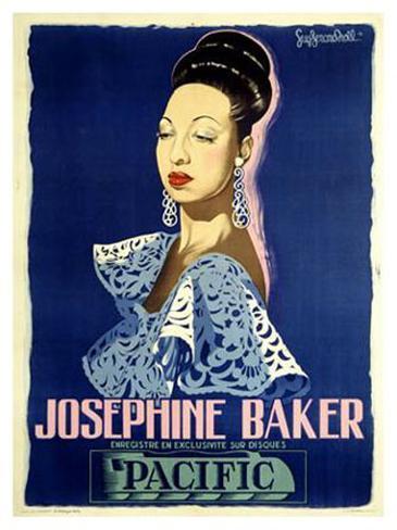 Josephine Baker Giclee Print