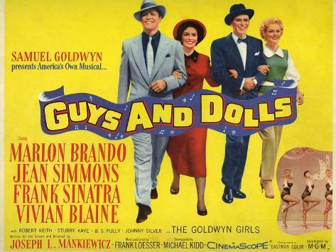 Guys And Dolls, 1955, Directed by Joseph L. Mankiewicz Giclee Print
