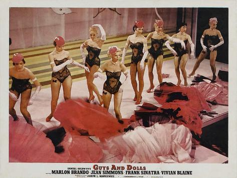 Guys and Dolls, 1955 Art Print