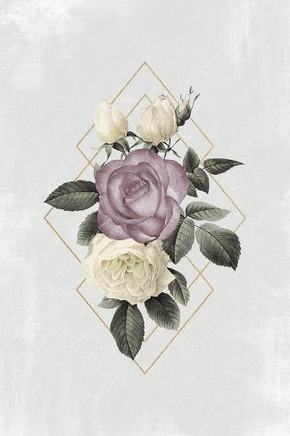 Floral Luxe Geo Giclee Print