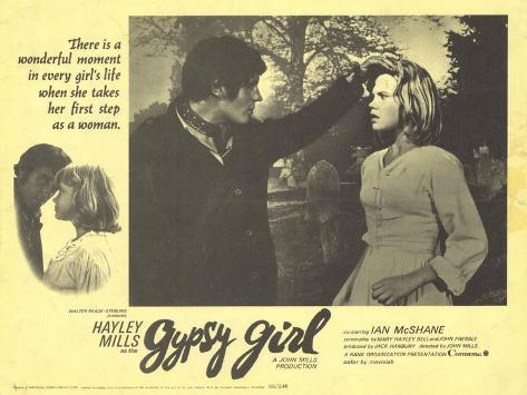 Gypsy Girl, 1966 Art Print
