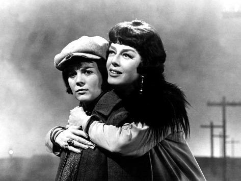 Gypsy, Natalie Wood, Rosalind Russell, 1962 Foto