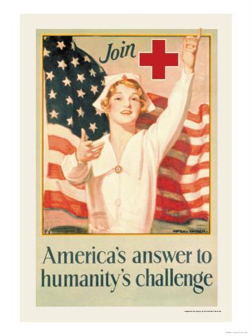 America's Answer to Humanity's Challenge Art Print
