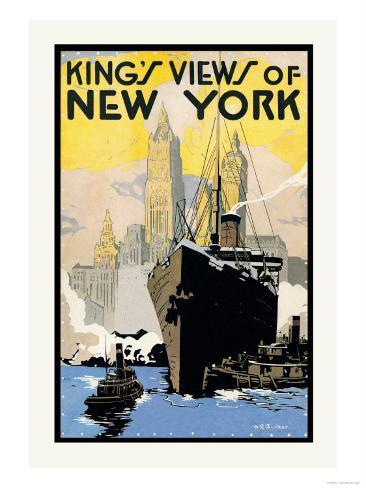 King's Views of New York Art Print