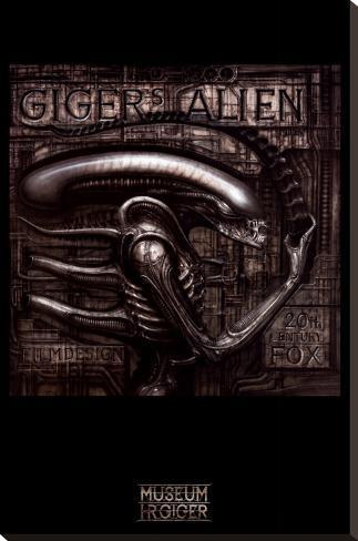 Giger's Alien Impressão em tela esticada