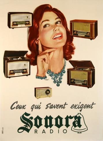 Ceux Qui Savent Exigent Sonora Collectable Print