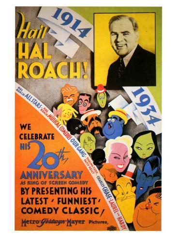 Hail Hal Roach, 1934 Konstprint