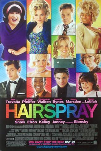 Hairspray Double-sided poster