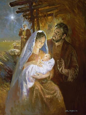 Natividad Lámina giclée