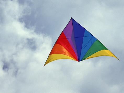 Colorful Delta Kite Photographic Print