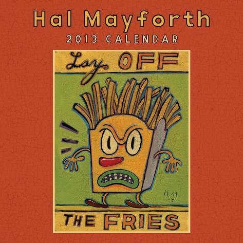 Hal Mayforth - 2013 Calendar Calendars