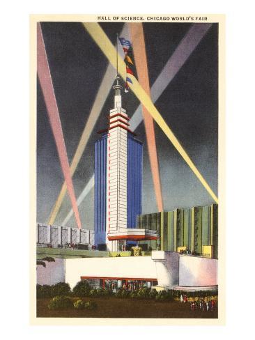 Hall of Science, Chicago World's Fair Art Print