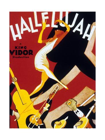 Hallelujah !, 1929 Art Print