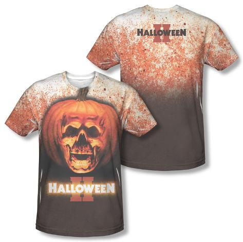 Halloween II - Pumpkin Skull (Front/Back Print) Sublimated