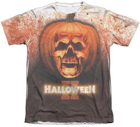 Halloween II - Pumpkin Skull Sublimated