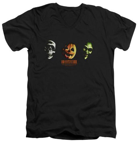 Halloween III - Three Masks V-Neck V-Necks