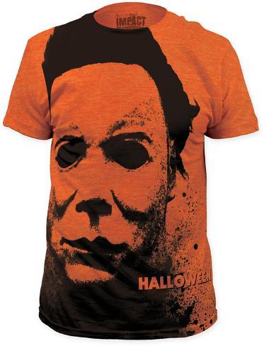 Halloween - Splatter Mask (Slim Fit) T-Shirt